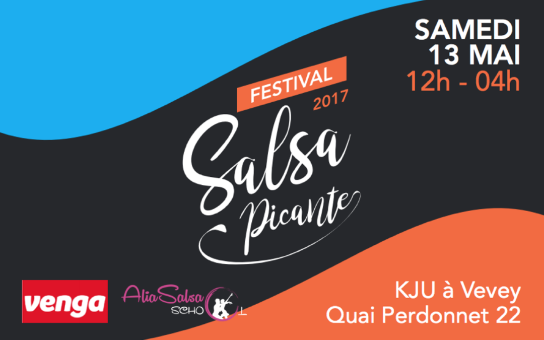 13 mai – Festival Salsa Picante