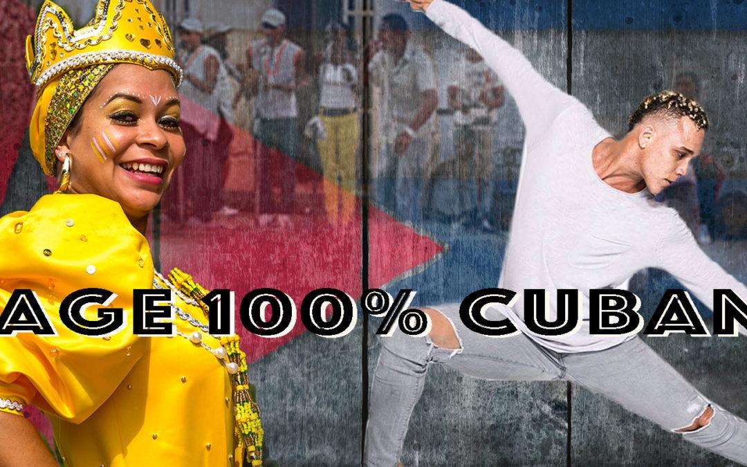 18.11.17 – Stage 100% Cubano Ismaray Chacon Aspirina